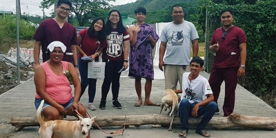Vet Students get together to end rabies now!