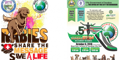 World Rabies Day 2018: Almost two hundred events held to Share the message and Save lives