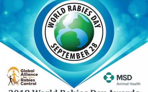 Celebrating the 2018 World Rabies Day Award recipients